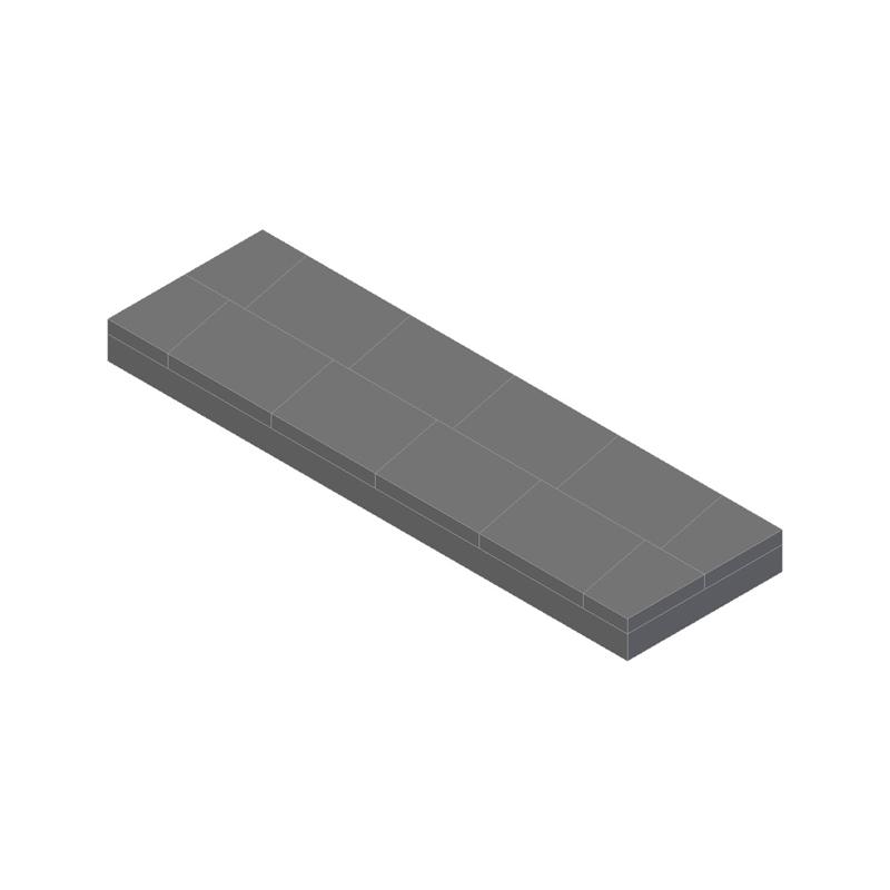 Recubrimiento de superficies con placas de metal duro es con placas de metal duro