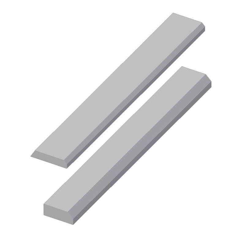 Barra prismática, en calidades K y G destinadas a la fabricación de series cortas
